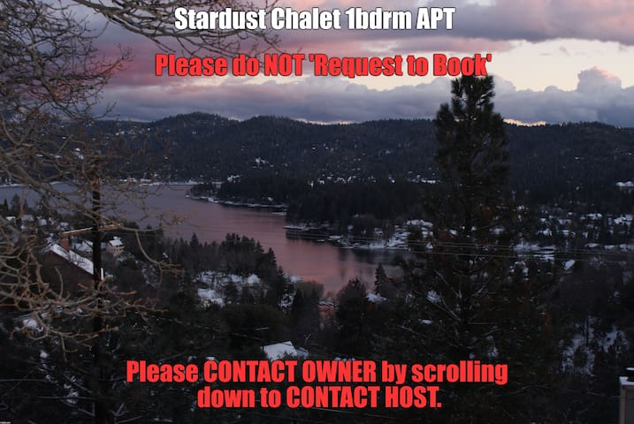 Stardust Chalet-Lake View 1Bdrm APT-Lake Arrowhead - Lake Arrowhead - Huoneisto