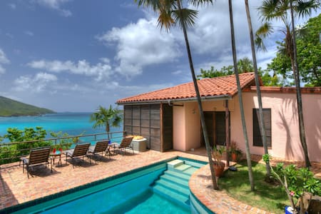 Villa Tryst! Waterfront  & steps away from Beach! - Northside