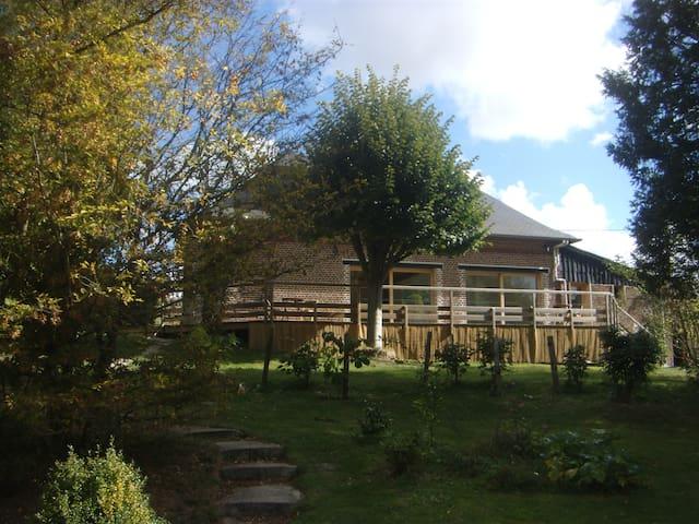 La maison du héron, une ancienne maréchalerie - Le Héron - Huis