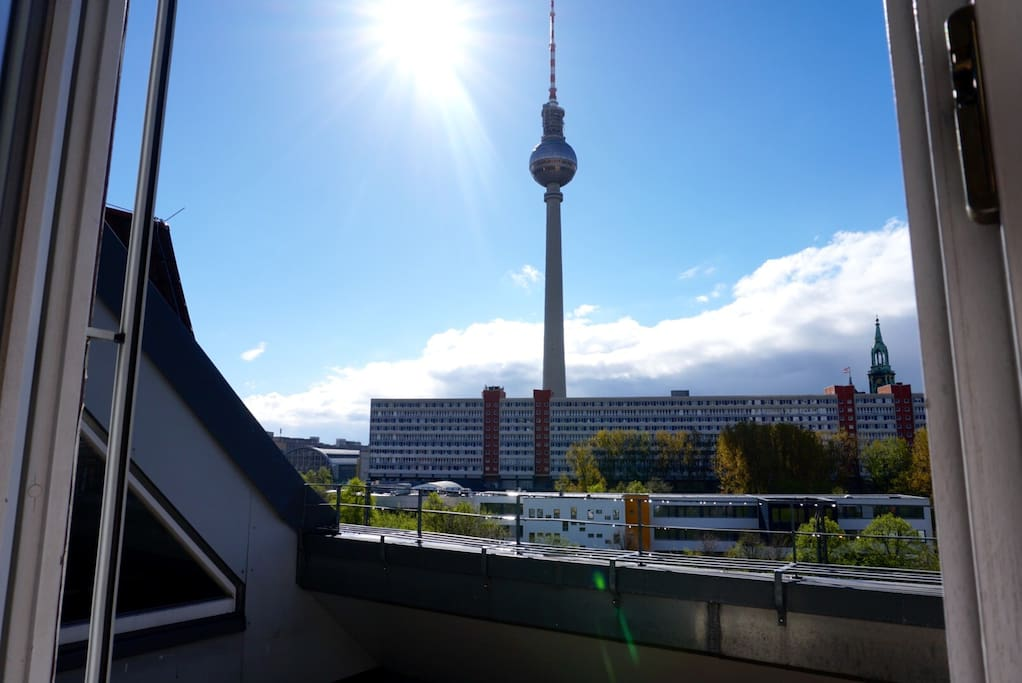 AMAZING view over Berlin's central area (Mitte)