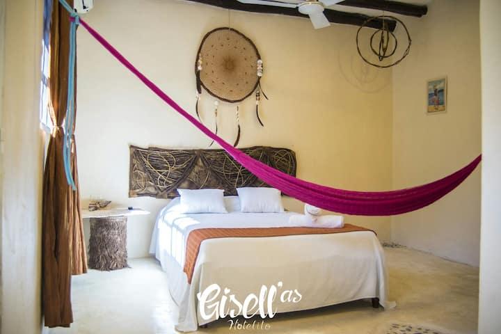 Hotelito Gisell'as - Habitación Bejuco