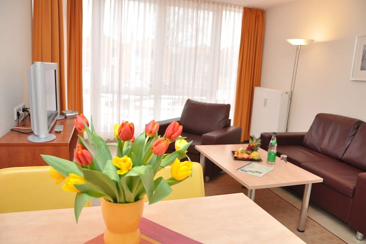 Bright apartment in the Baltic Sea resort Rerik, family friendly