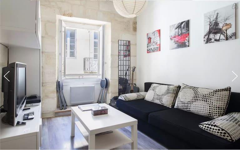 Joli studio pour court séjour - Bordeaux - Apartment