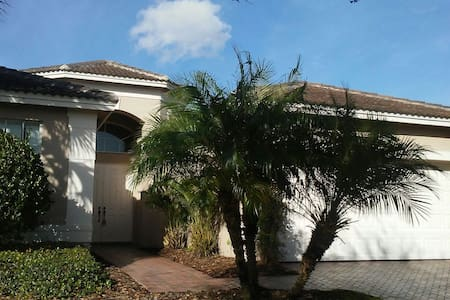 Beautiful place in nice community ! - Wimauma - Casa