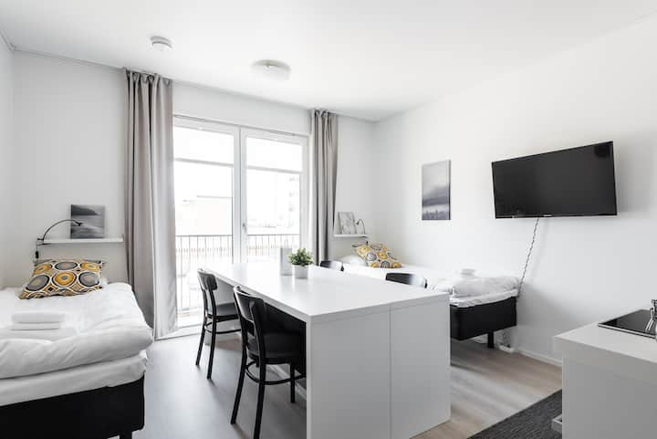 Family Studio with a Kitchenette