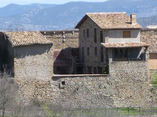 Casa típica en los Pirineos