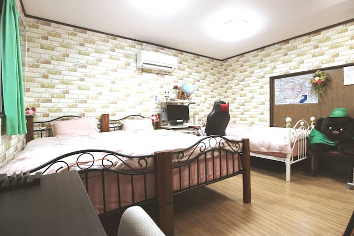 Private Room1 share house★7 min Kashiwa sta★Pickup