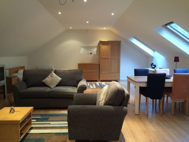Quiet modern studio apartment - Oxford - Pis