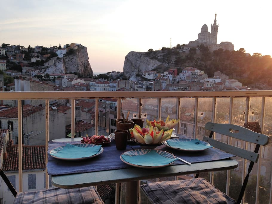 Diner au balcon