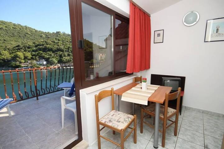 One bedroom apartment with terrace and sea view Pasadur, Lastovo (A-996-d) - Pasadur - Apartament