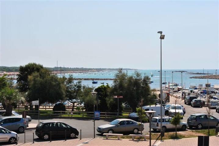 Frontemare - Vista spiagge - Torre San Giovanni - Rumah