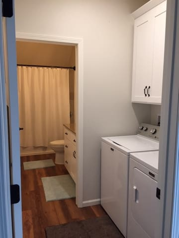 Laundry & Bath (private areas)