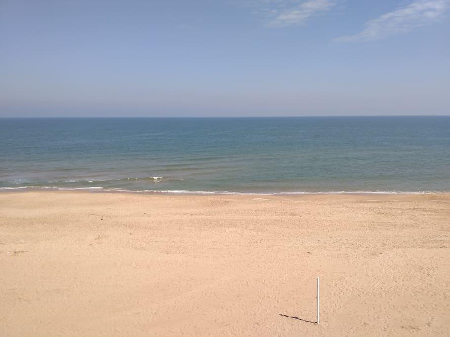 La Playa desde la terraza