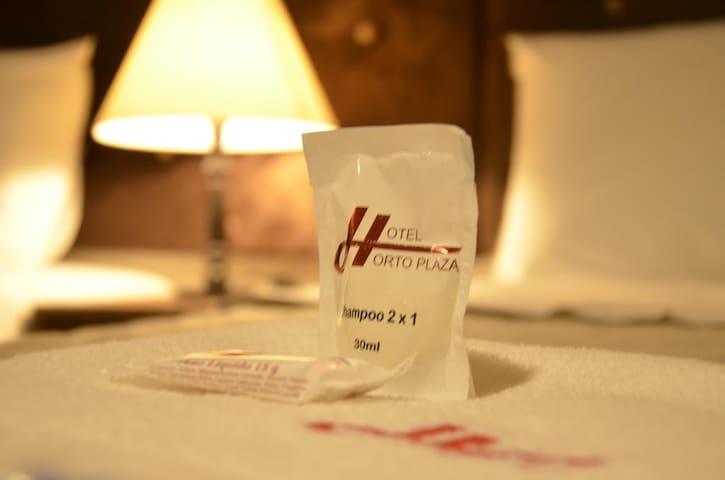 Hotel Horto Plaza -  Quarto Duplo