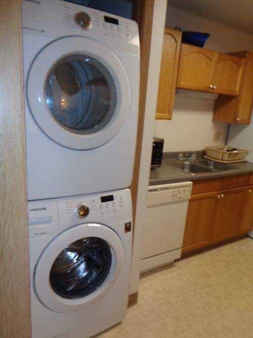kitchen & laundry & dryer