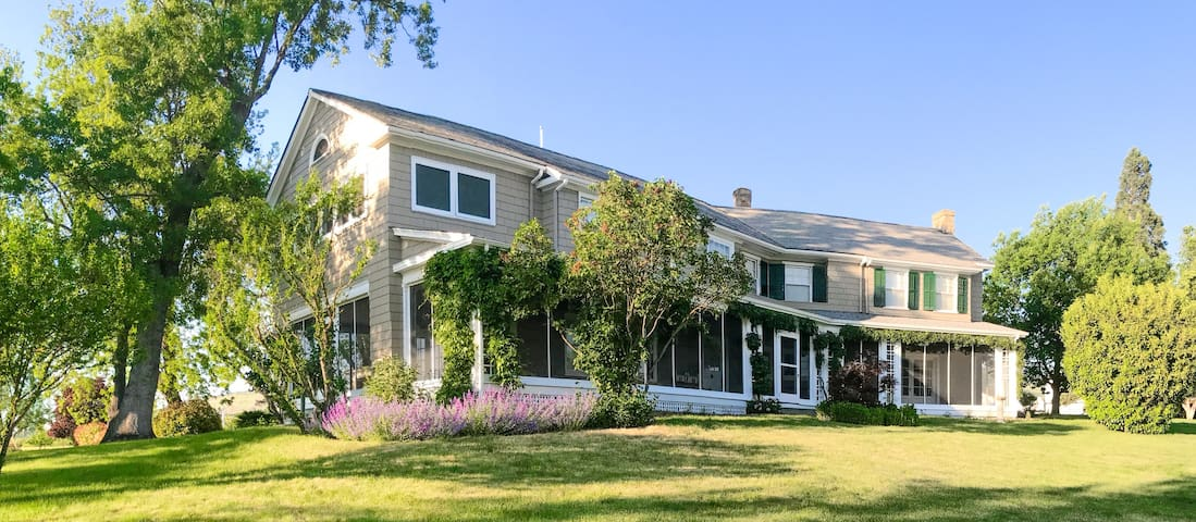 Stay at the Historic Hillcrest Orchard  Estate