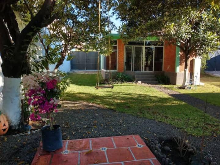 Loft privado Alberca Caldera Jardín Asador