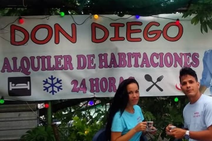 Hostal Don Diego. ideal para grupos.