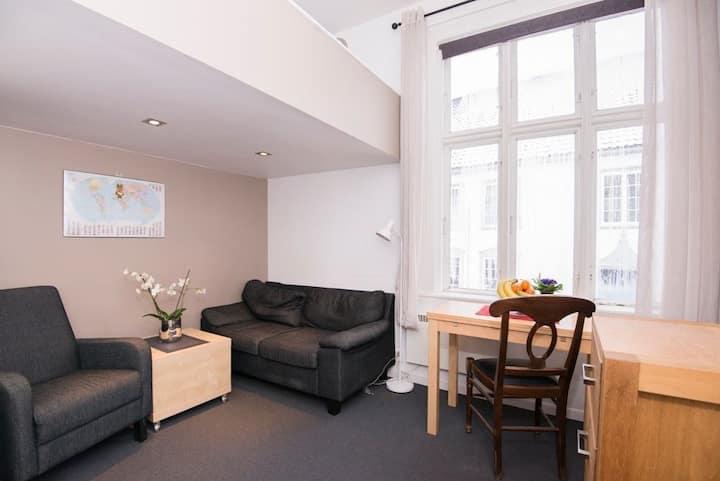 Praktisk leilighet i rolig del av Tønsberg