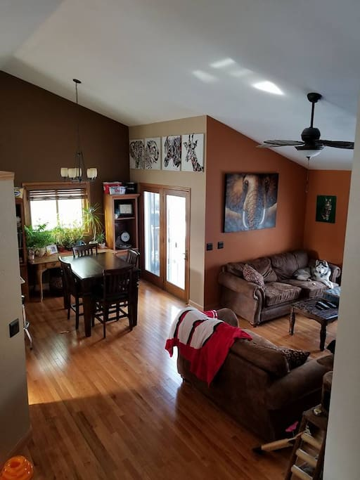 Great Room - Living Room and Dining