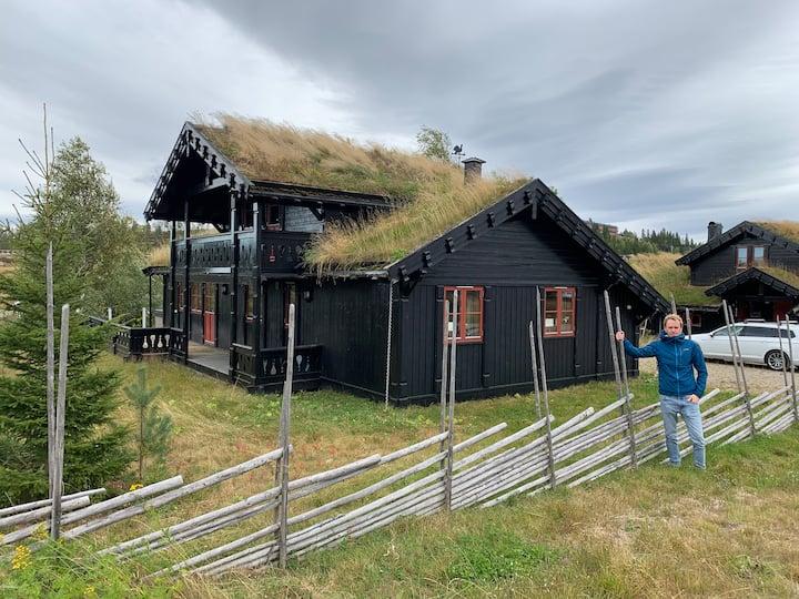 Modern och mysig fjällstuga i Branäs, Värmland
