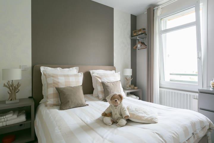 Rooms beetween Paris/Disneyland - Lognes - Apartament
