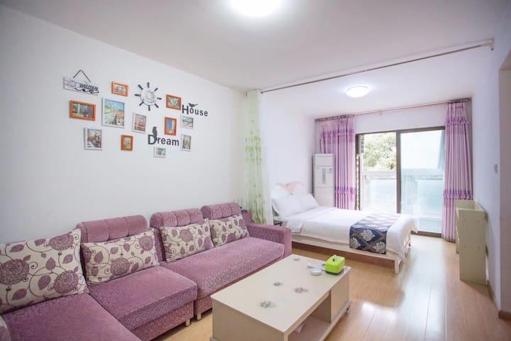 蓝图公寓之舒适家庭房