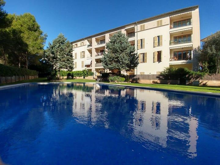 Magnifico pianterreno con terrazza e piscina
