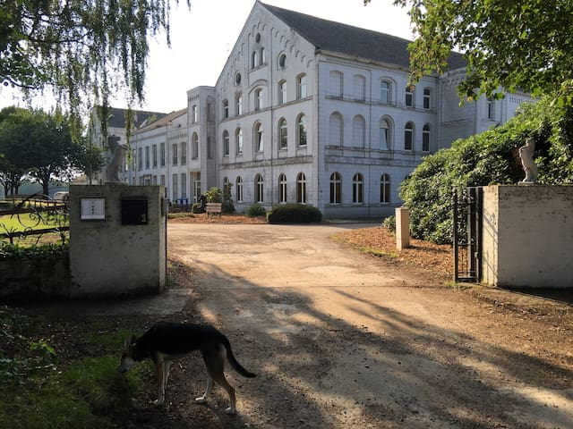 Sleeping in a former monastery (1 bed) - Valkenburg - Muu