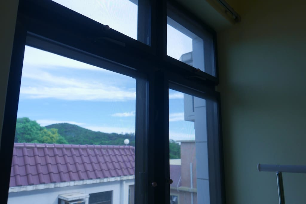 View from the Single Bed Room