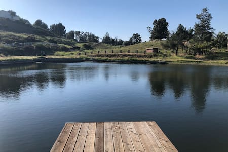 Unique Stay-10 acres,Private Lake, Fishing, Horses