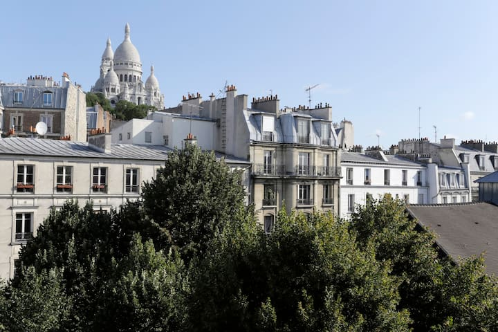 Montmartre amazing view