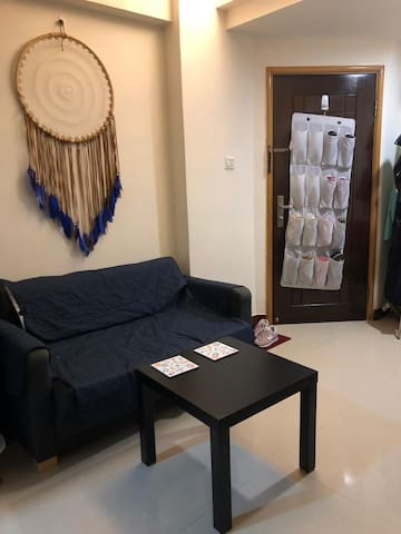 Single bedroom with a big sofa bed  in Wan Chai