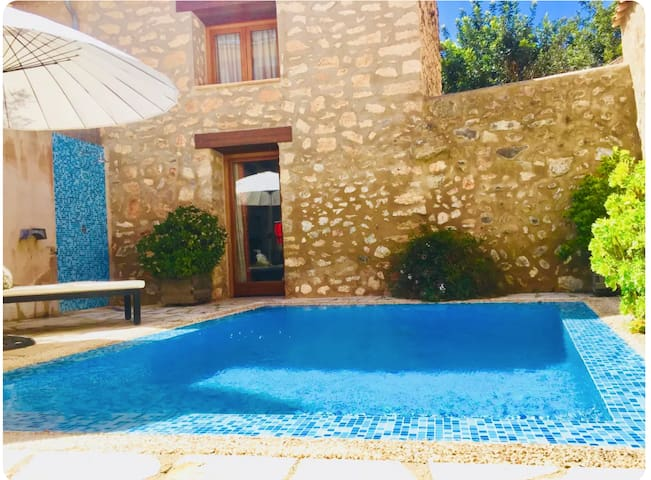 "Fabulous Vacation Home ""Can Bodeguita"" with Wi-Fi, Air Conditioning, Pool, Balcony & Terrace; Parking Available"
