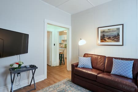 Cozy, Newly-Renovated Apartment above Local Bakery
