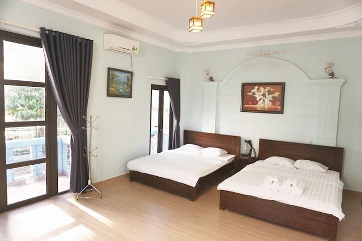 Le Jardin VT - Phan Chu Trinh St | Room 201 Lily