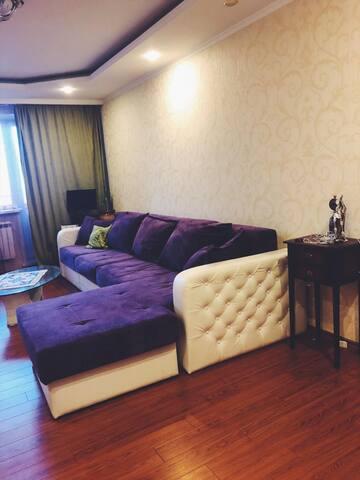 Тихая, уютная квартира в самом центре города!