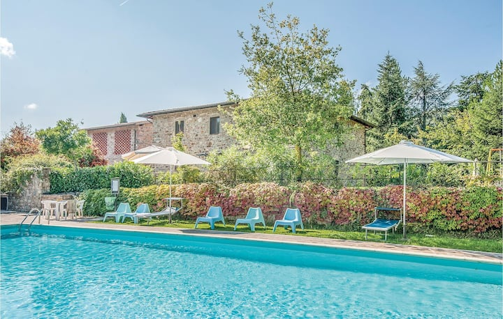 Holiday apartment with 2 bedrooms on 50m² in Greve in Chianti FI