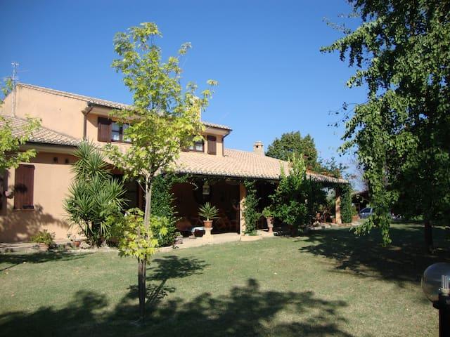 Cosy Attic in Abruzzo Country House, near PSR Apt. - Cepagatti - Willa