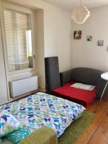 possibilité de 2 canapé-lit