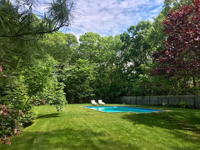 Chic Quiet East Hampton House w Pool+ Large Garden