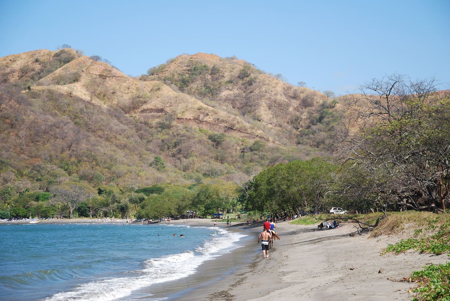 Campground located  300 M from Matapalo beach.   This is near, but isolated from the Hotel Riu.