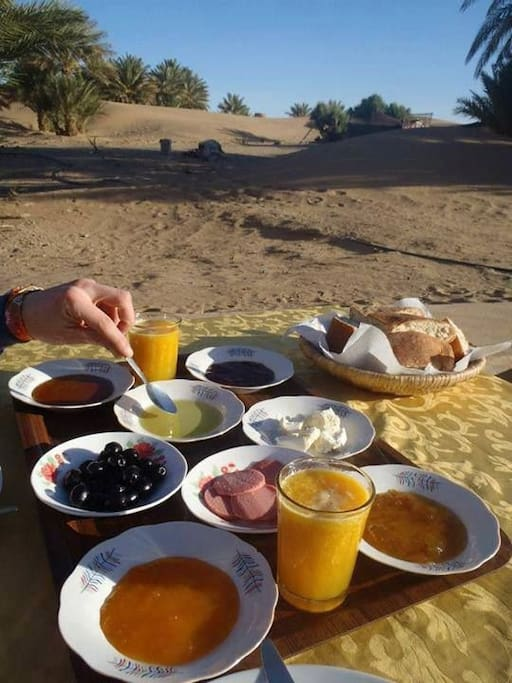Our Morrocain breakfast