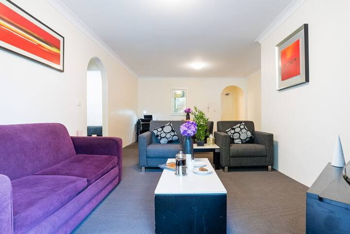 one bedroom  furnished Apartment accommodation