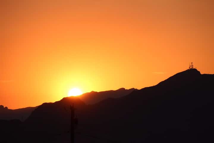 Stunning Sunsets and Scenic Desert Mountains