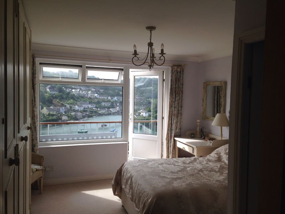 Main bedroom and top balcony