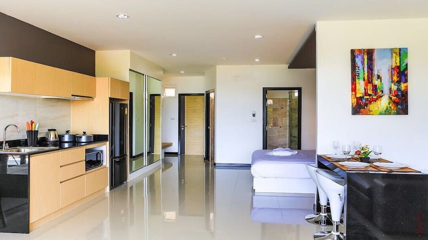 Tropic apartment @NAIHARN BEACH CONDO С704
