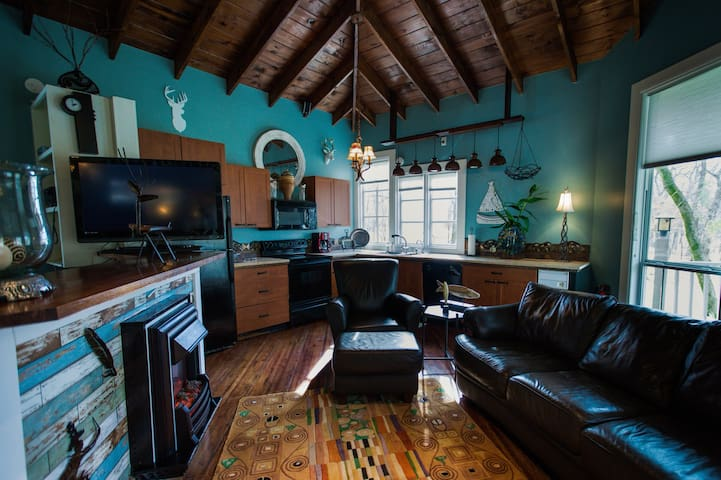 The Pine Bungalow at Rivers Bend Resort