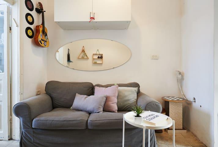 Comfy sofa to make you feel at home