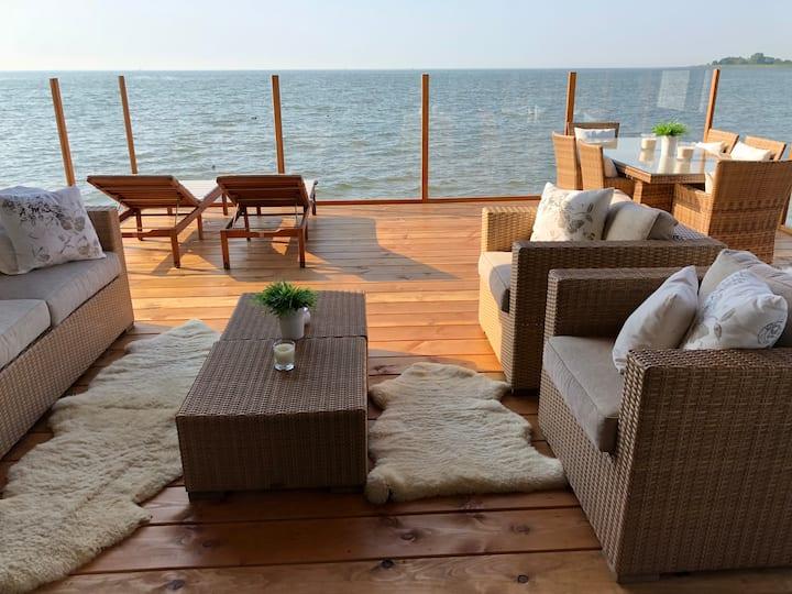 Luxe Vakantie Villa Markermeer ***** Bovenkarspel